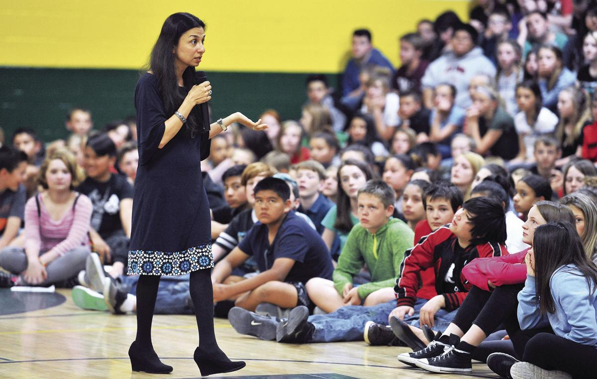 Local refugee tells story of persecution to help students be more tolerant