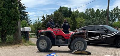 ATV crash near Chubbuck
