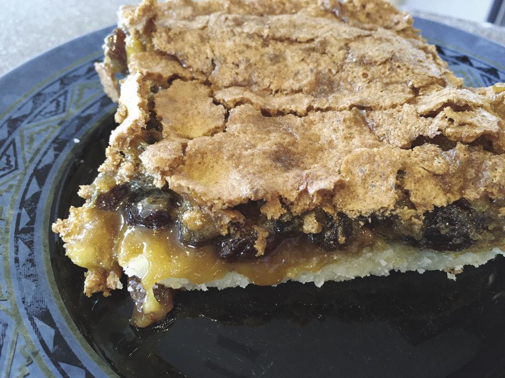 Belle's Raisin Pecan Pie Bar
