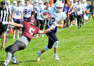 21eeb59e15af HS football  Video highlights of Century s scrimmage against Rigby ...