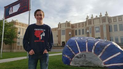 Joseph Felde Pocatello High School Indians mascot
