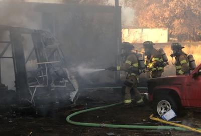 Fort Hall fire