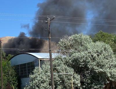 South Pocatello wildfire
