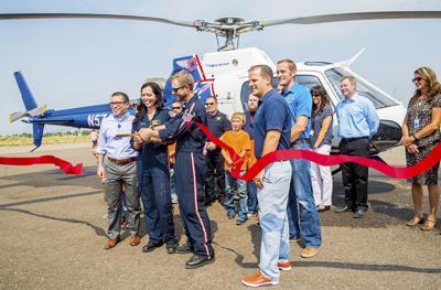 Soda Springs celebrates new air ambulance base | Members