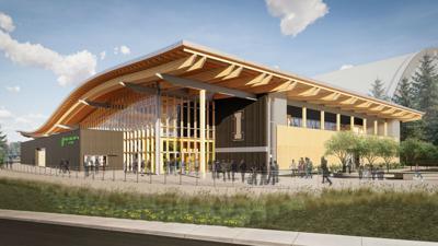 Univerity of Idaho arena rendering