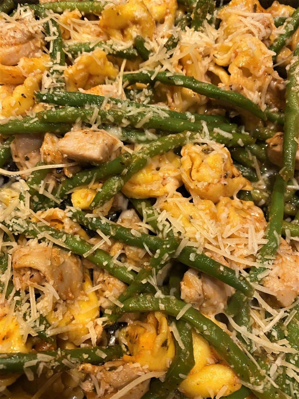 Belle's Chicken with Tortellini