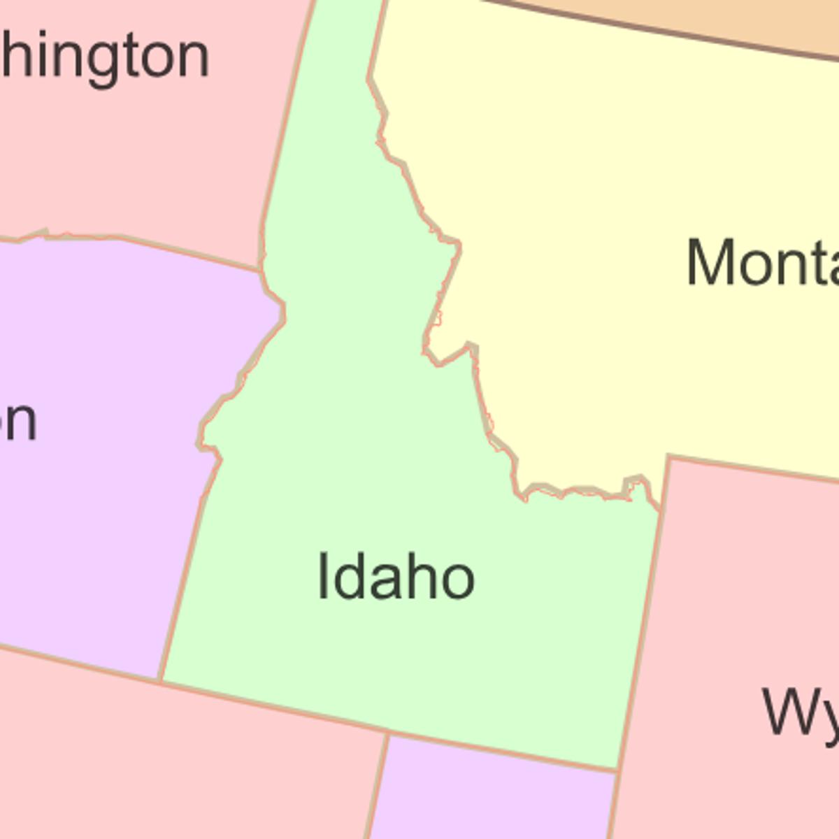 idaho and washington map Proposed 51st State Would Include Parts Of Idaho Washington idaho and washington map