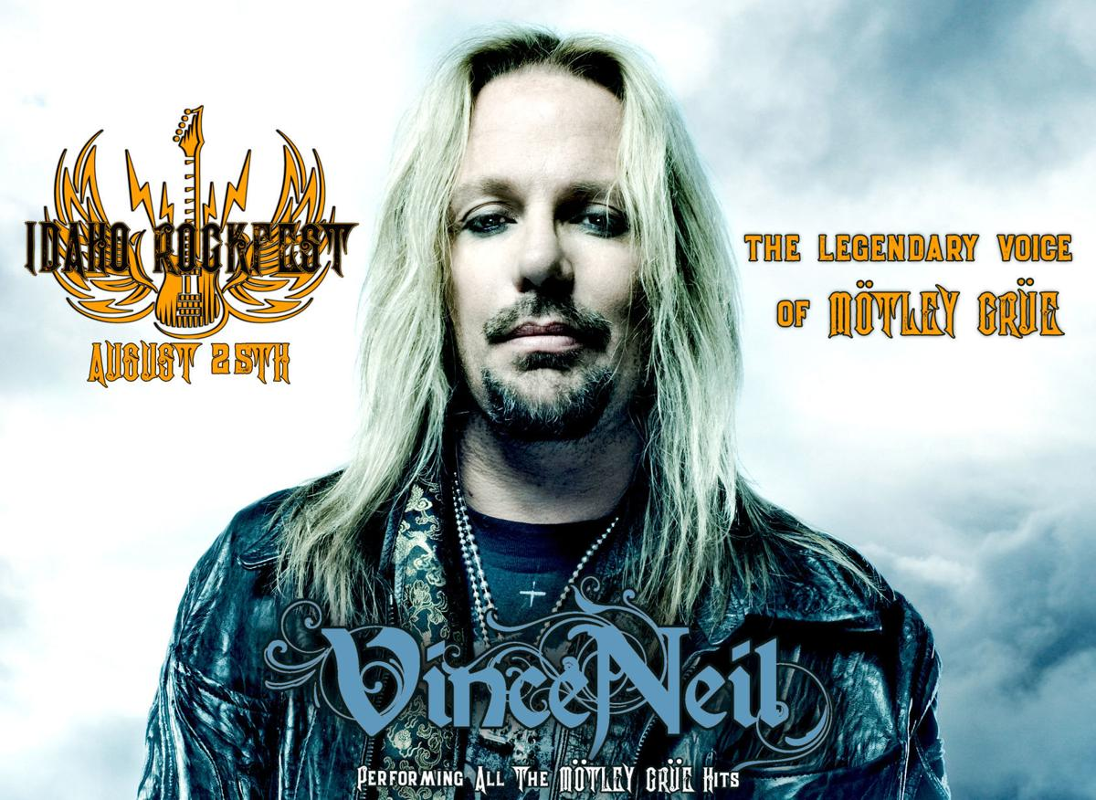 Vince Neil to headline inaugural Idaho Rockfest in Idaho Falls
