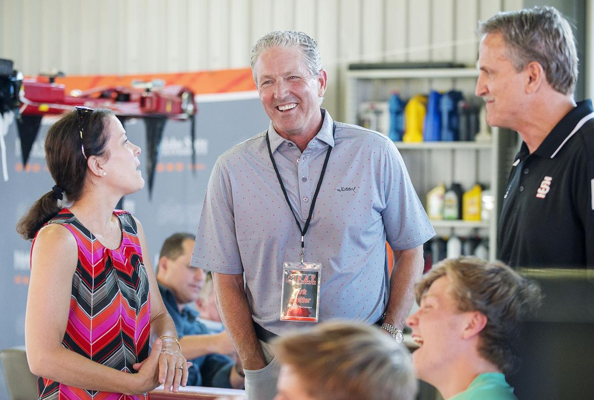 Phil Meador Toyota >> ISU football: WELCOME HOME — Koetter, Hoge, Wilcots attend annual F.A.T. meet and greet ...