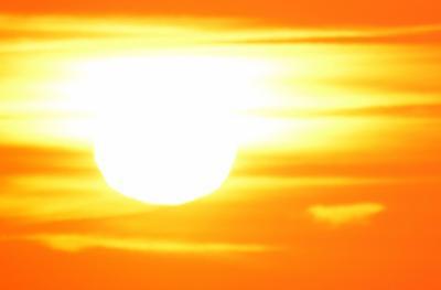 Extremely hot weather heat advisory stock image file photo