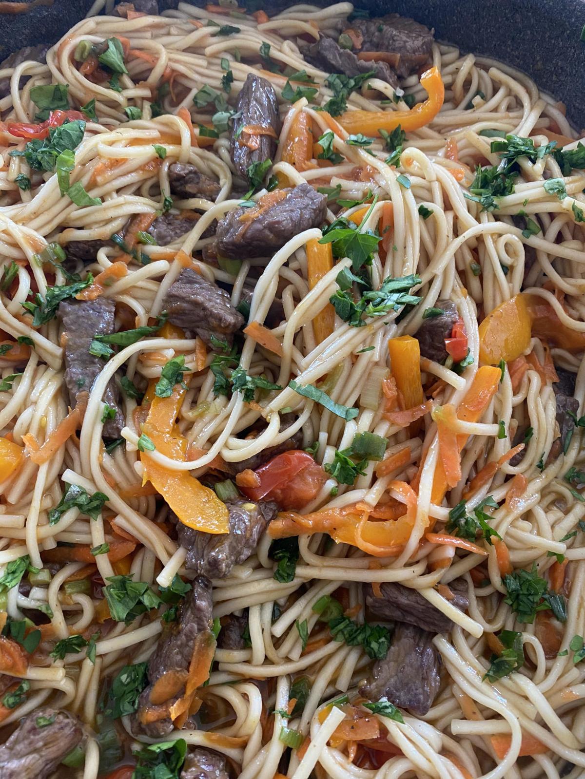 Belle's Thai Noodle Bowl