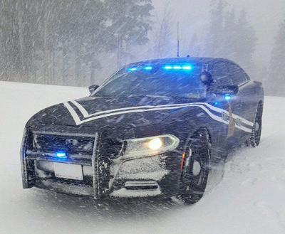 Idaho State Police snow file photo