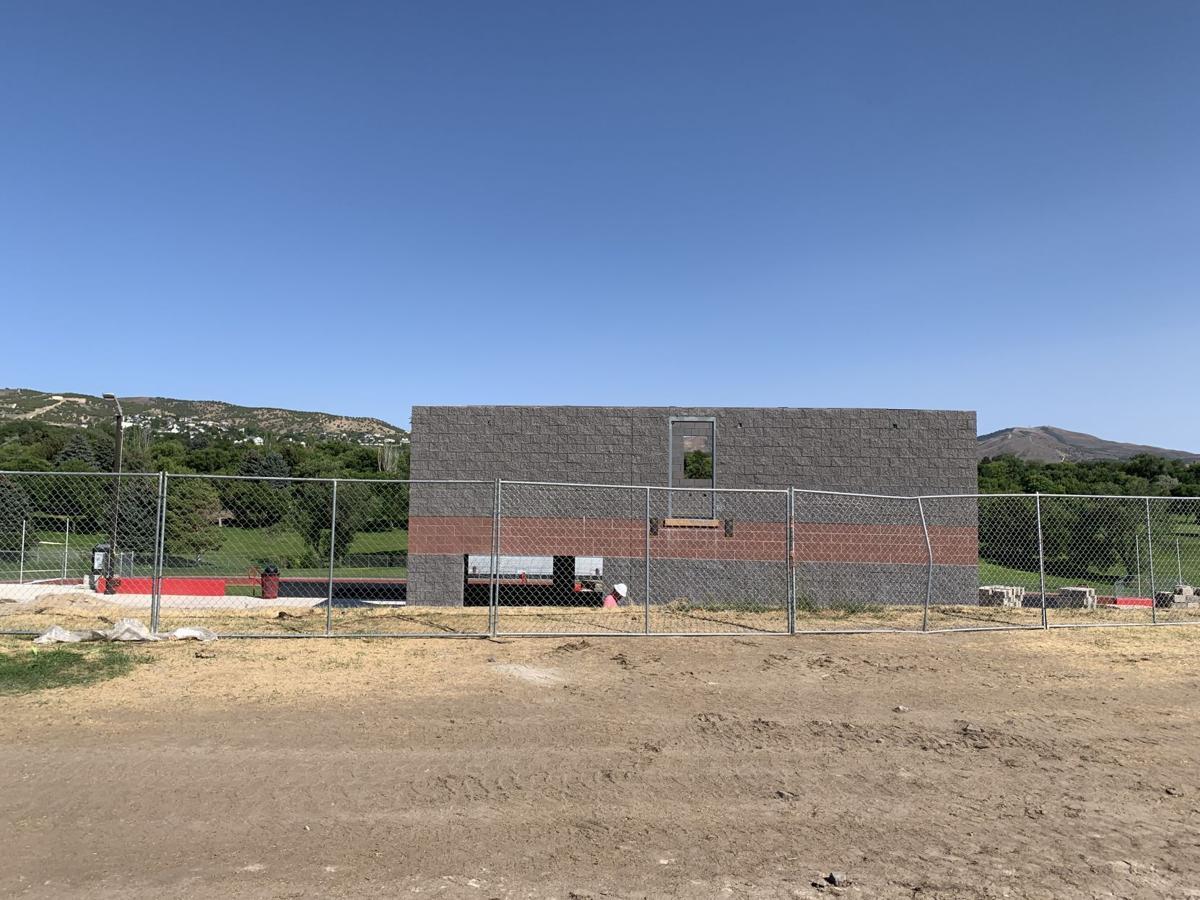Iron Horse Stadium construction