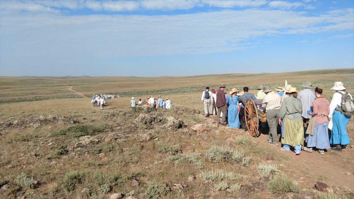 Members of Pocatello East LDS Stake retrace steps of Mormon