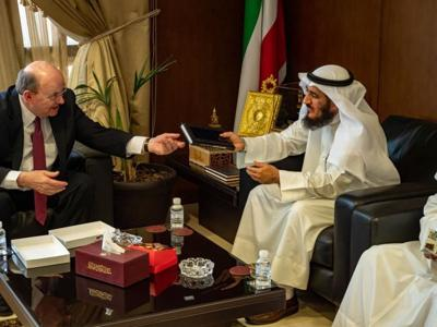 Apostle Thanks State of Kuwait for Formally Recognizing the Church