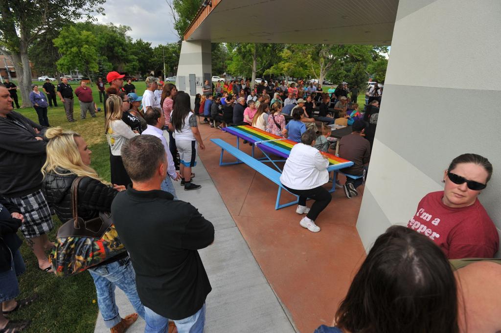 Orlando memorial at Caldwell Park | News | idahostatejournal com