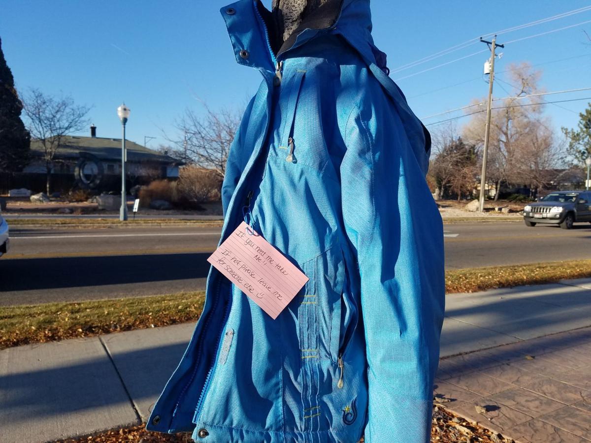 Free coats on trees/poles