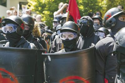 Portland Rallies Extremes Converge