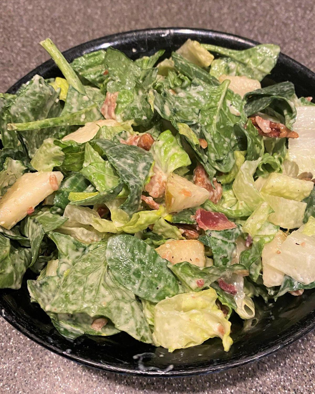 Belle's Pear Bacon Pecan Salad