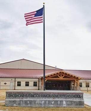 Shoshone-Bannock high school
