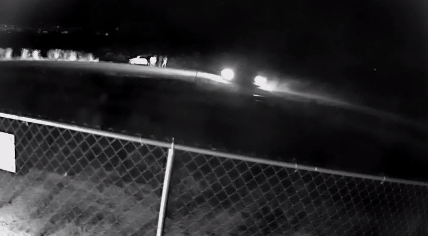 Suspects outside Vehicle