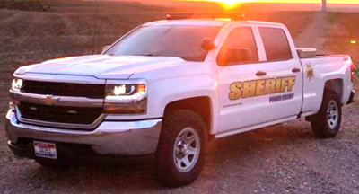 Power County Sheriff's Office file photo stock image
