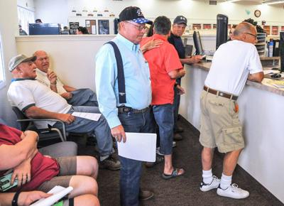 Tax Accessor's office crowded