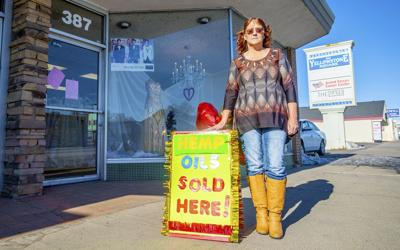 Katrina Evans sells hemp oil again