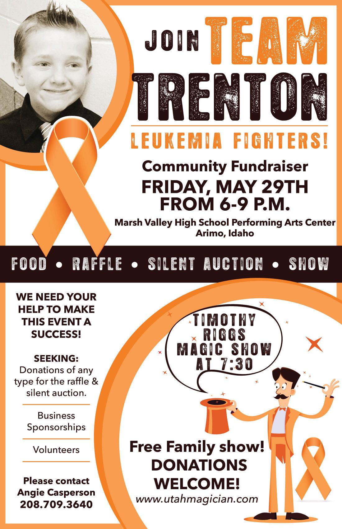 fundraiser set for inkom boy diagnosed with leukemia