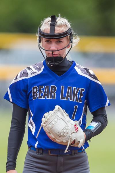 Hailey Humpherys Bear Lake softball