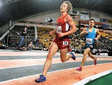 Simplot Games 2020.First At Last Pocatello Runner Wins 3 200 Meter Race At
