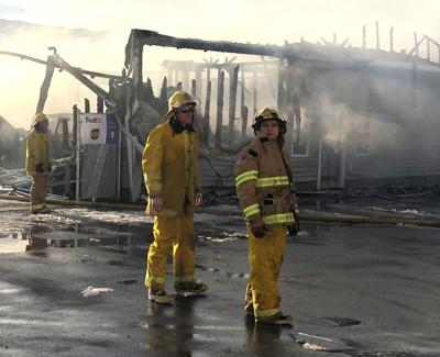 Buetts Fence fire