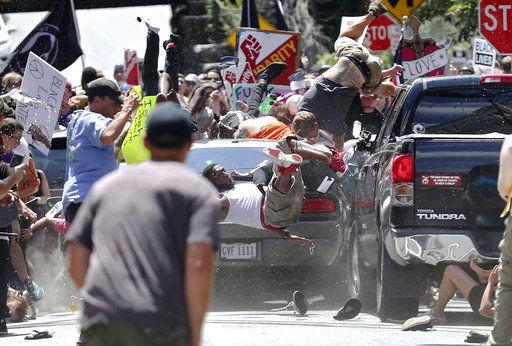 White nationalist rally, violence rock Virginia city; 1 dead