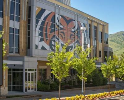 Idaho State University stock image