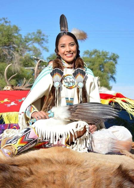 Miss Shoshone-Bannock Preps To Compete In Miss Indian World Contest  Members -9816