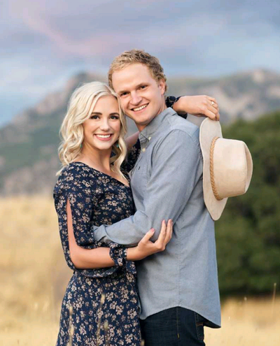Stetson Palmer and Olivia Woolley to wed Dec. 19