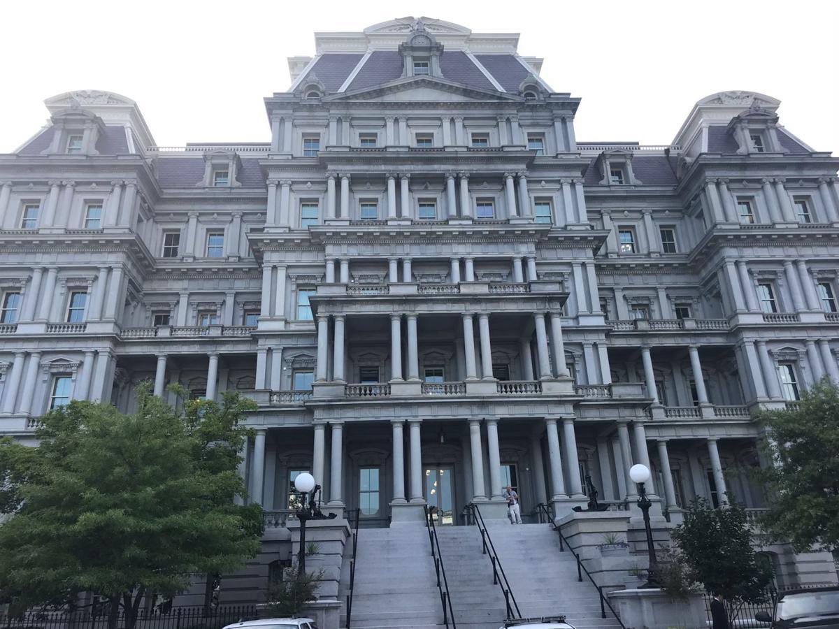 Eisenhower Building, Kevin England
