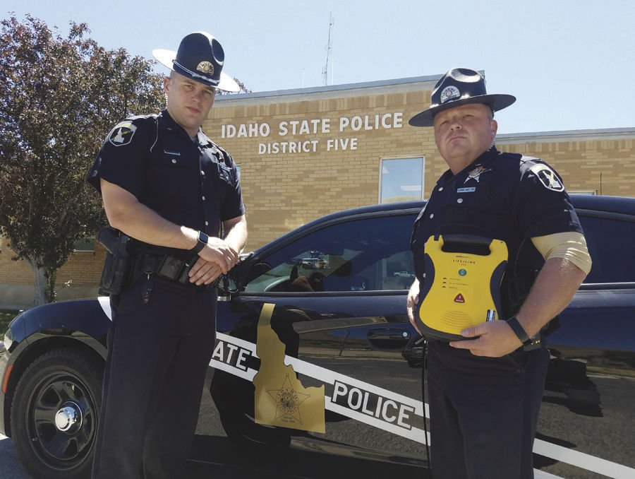 Troopers Save Life Idaho State