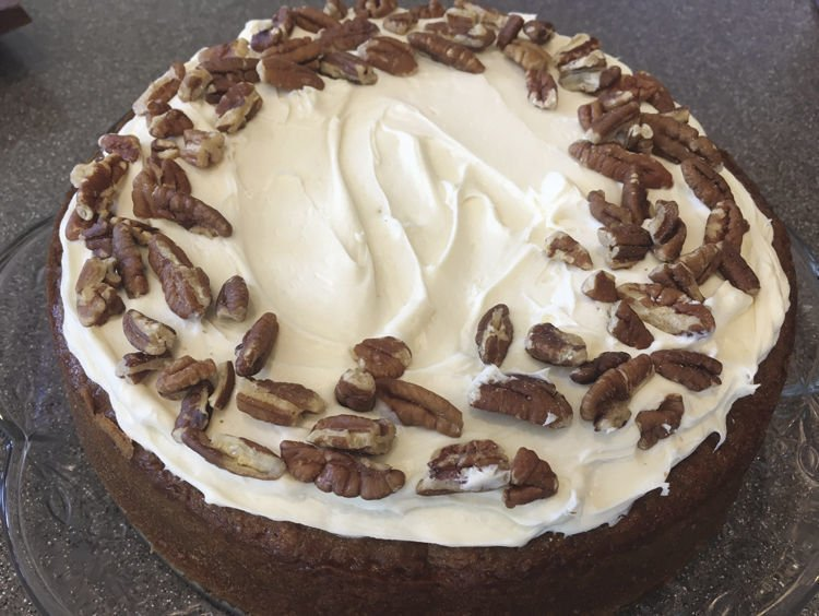 Belle's Carrot Cake Cheesecake
