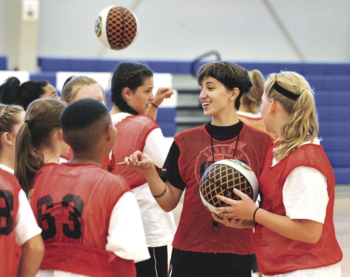 isu wbb kids take advantage of free isu women u0027s basketball camp