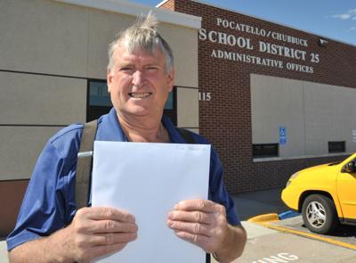 Eric Stewart gets documents