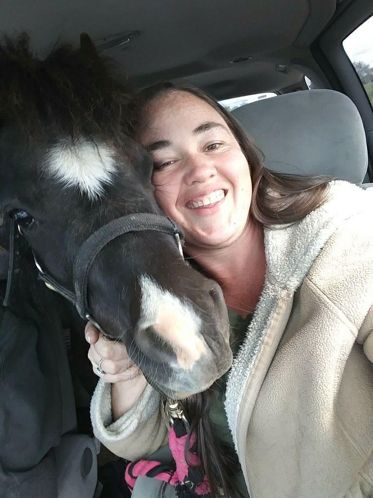 Nikki and horse