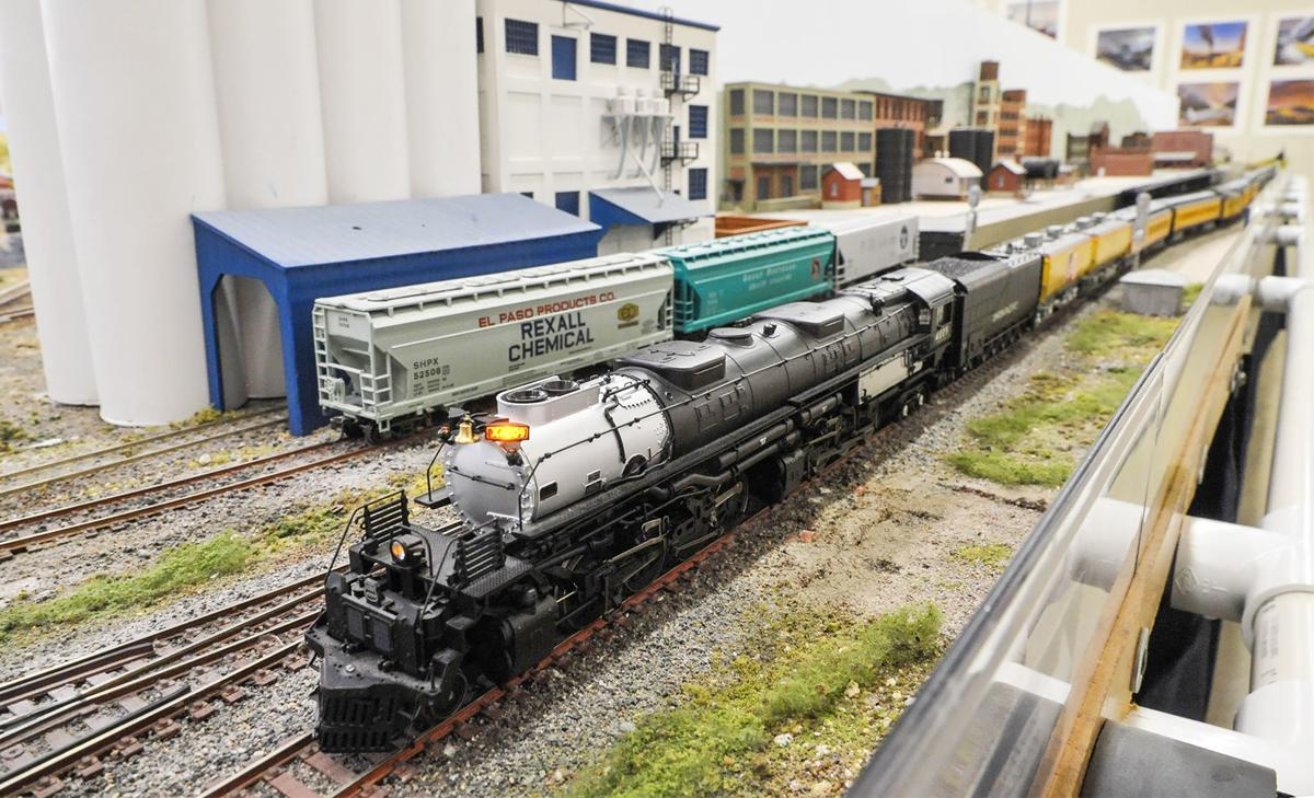 Pocatello Model Railroaders big boy