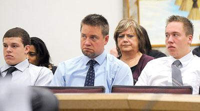 Four former Blackfoot High athletes accused of sexual battery, false imprisonment are arraigned
