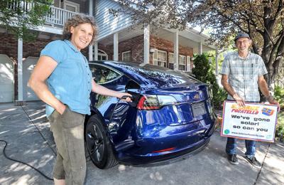 Solar Pocatello Tesla