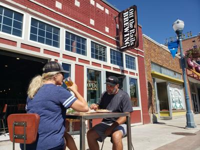 Downtown Pocatello outdoor dining/open container
