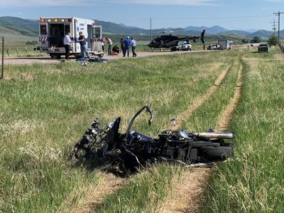 Fatal motorcycle wreck (ISJ)