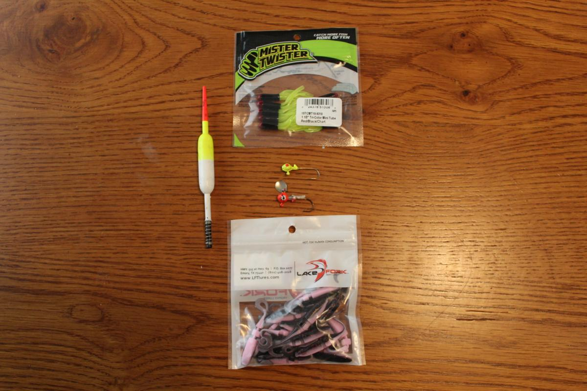 Gearing up for crappie fishing