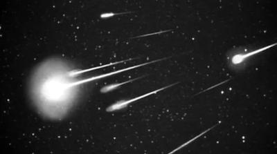 NASA meteor shower photo