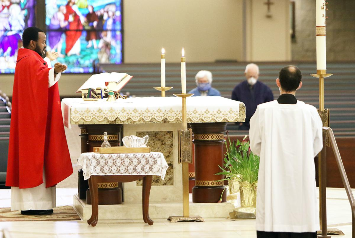 St. Mark's reopens for daily mass